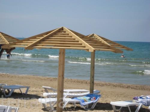 Пляж своими руками варианты