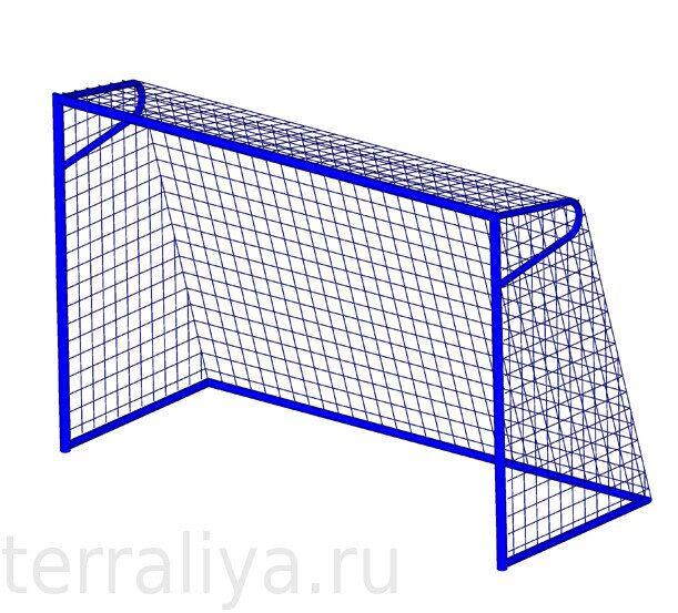 Купить ворота для мини футбола с сеткой